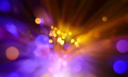 Explosión de las luces Foto de archivo libre de regalías