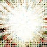 Explosión de los círculos Fotos de archivo