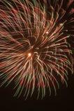 Explosión de los fuegos artificiales Imágenes de archivo libres de regalías