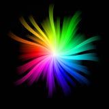 Explosión del arco iris Imagen de archivo