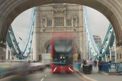 Explosión del autobús Imagen de archivo