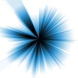 Explosión del azul ilustración del vector