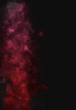 Explosión del bokeh del corazón Fotografía de archivo