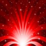 Explosión del campo de estrella Imagen de archivo libre de regalías