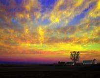 Explosión del cielo Imagenes de archivo