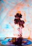 Explosión del color Foto de archivo libre de regalías
