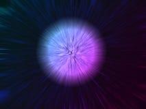 Explosión del espacio imagenes de archivo