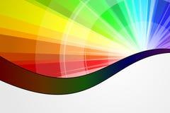 Explosión del espectro Foto de archivo