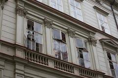 Explosión del gas de Praga en el 29 de abril de 2013 Foto de archivo libre de regalías