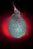 Explosión del globo Imagen de archivo libre de regalías