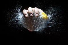 Explosión del globo de agua Imagen de archivo