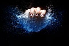 Explosión del globo de agua Imagen de archivo libre de regalías