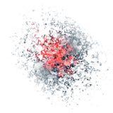 Explosión del huevo Fotos de archivo libres de regalías