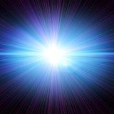Explosión del laser Imagen de archivo libre de regalías