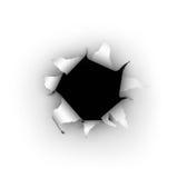 Explosión del papel Fotografía de archivo libre de regalías