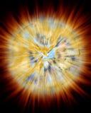 Explosión del planeta Imagen de archivo libre de regalías