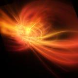 Explosión del rayo gama Imagen de archivo libre de regalías