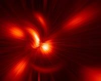 Explosión del rojo Fotos de archivo