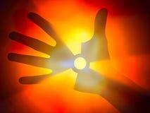 Explosión nuclear Foto de archivo libre de regalías