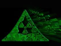 Explosión nuclear Fotografía de archivo libre de regalías