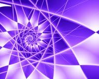 Explosión púrpura de la estrella stock de ilustración