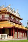 Explosión-PA-en palacio en Ayudhaya, Tailandia. Fotografía de archivo libre de regalías