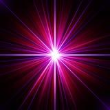 Explosión psicodélica colorida de la energía universal Foto de archivo libre de regalías