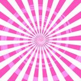 Explosión Ray Background Pink del extracto Fotografía de archivo
