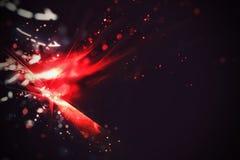 Explosión roja Imagen de archivo