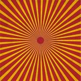 Explosión roja de Grunge Foto de archivo libre de regalías
