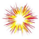 Explosión (vector) ilustración del vector