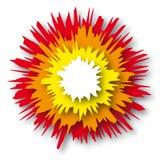 Explosión (vector) libre illustration
