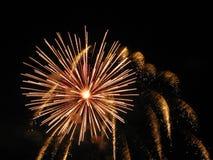 Explosión y rápidos Foto de archivo libre de regalías