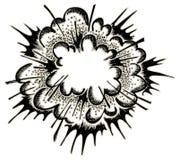 Explosie vector illustratie