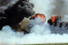 Explosie Royalty-vrije Stock Afbeelding
