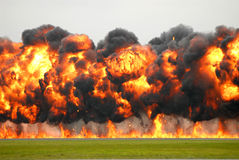 Explosie 2 Royalty-vrije Stock Afbeelding
