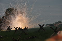 Explosie Stock Afbeelding