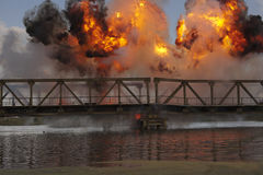 Explosie Stock Fotografie