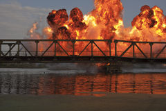 Explosie Stock Foto's