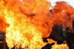 Explosie Royalty-vrije Stock Afbeeldingen