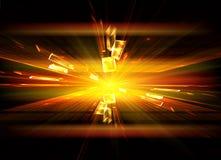 Explosie, ontploffing Stock Afbeeldingen