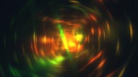 Explosie van glansdeeltjes met radiaal 3d motieonduidelijk beeld, geeft computer geproduceerde achtergrond terug stock illustratie