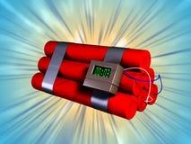 Explosief Royalty-vrije Stock Fotografie