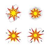 explosies Stock Foto