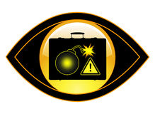 Explosievenopsporing Stock Foto's