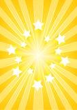 Explosión de la estrella Fotografía de archivo libre de regalías