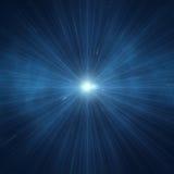 Explosión de la estrella Imagen de archivo libre de regalías