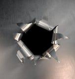 Explosión del metal Fotos de archivo libres de regalías