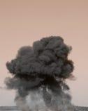 Explosion énorme Image libre de droits