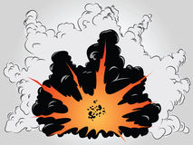 Explosion stock illustration